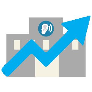 Heardat-Increase your practice's value Icon