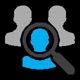 Heardat-Specific target marketing Icon